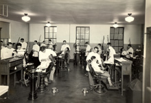 orthodontia clinic, 1928