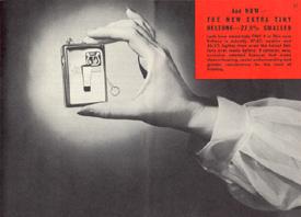 Advertisement for Beltone Monopac L, 1952
