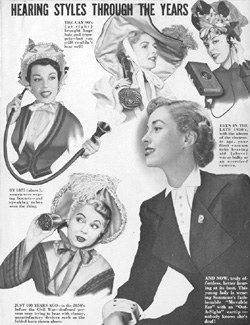Sonotone advertisement from the 1950s