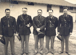 21st General Hospital Medical Officers, Fort Benning, GA, 1942