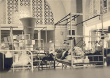 Orthopedic Ward, 21st General Hospital, Bou Hanifia, Algeria, 1943