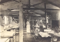 Surgical ward, Base Hospital 21, Rouen, France