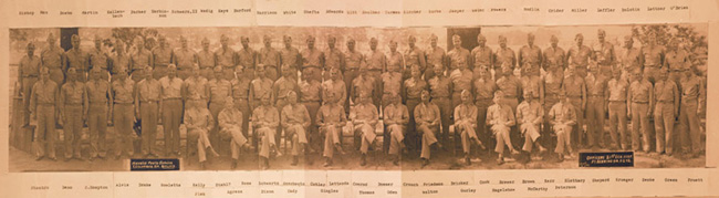 21st General Hospital officers, Fort Benning, GA, 1942