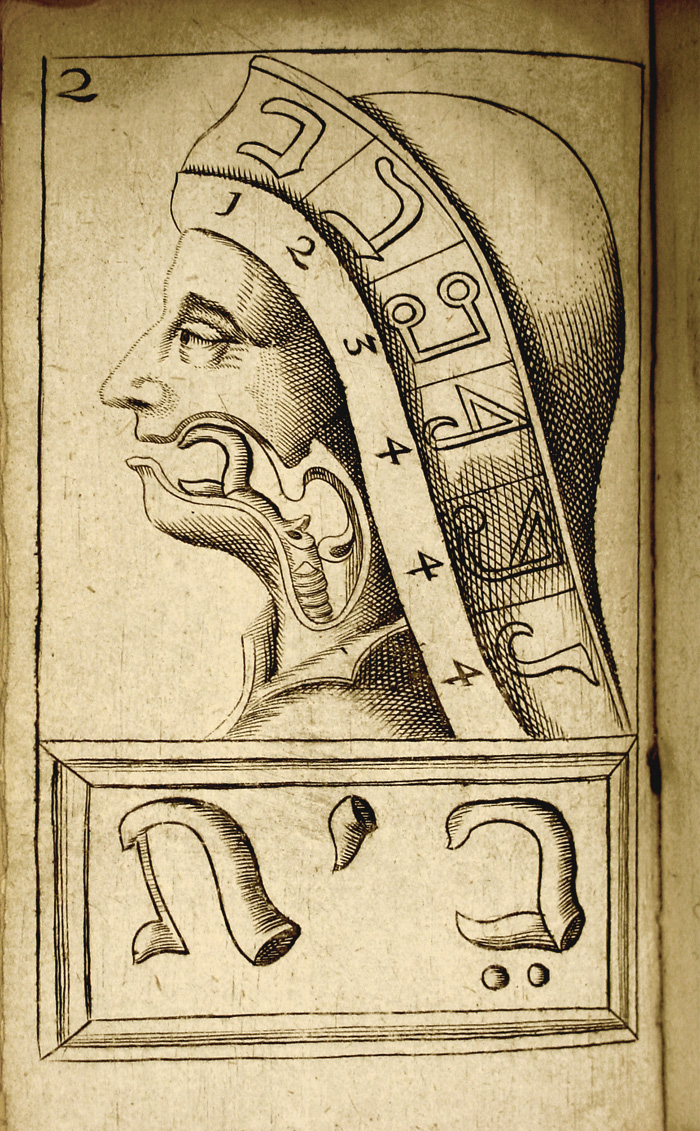 Illustration from van Helmont's 'The Alphabet of Nature,' 1667